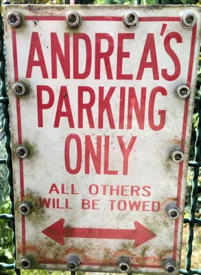 Only ANDREA'S... but not ANDREAS!?