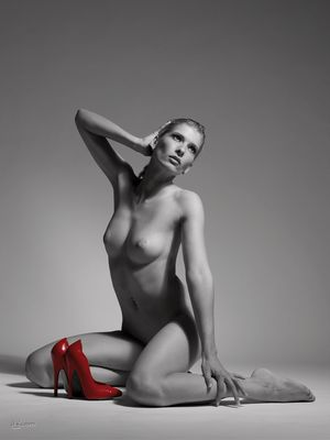 Only Red Shoes