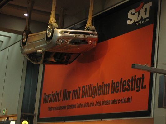 Only Sixt....