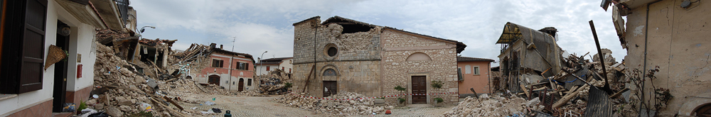 Onna - L'Aquila - Aprile 2009