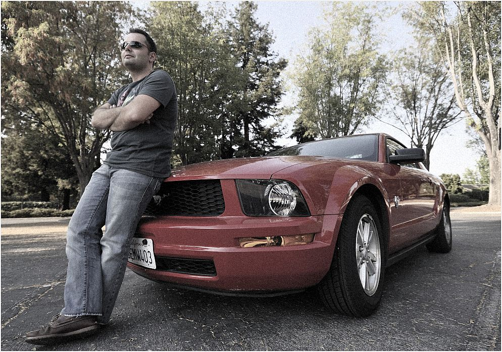 Onur und der Mustang