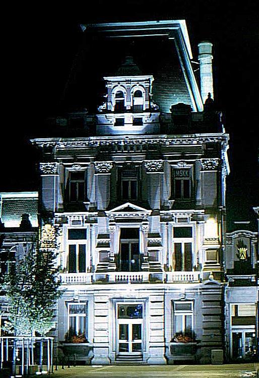 Oostende bei Nacht