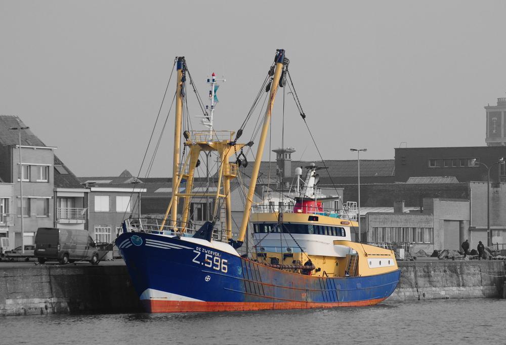 Oostende Fischereihafen