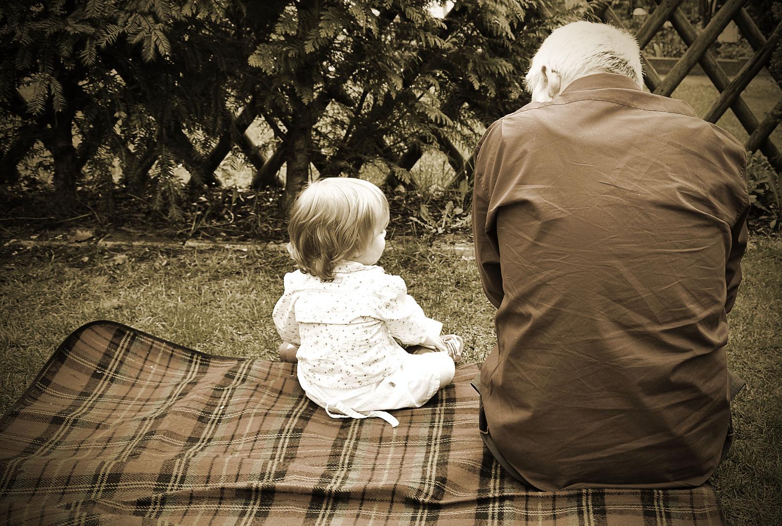 Opa erklärt die Welt