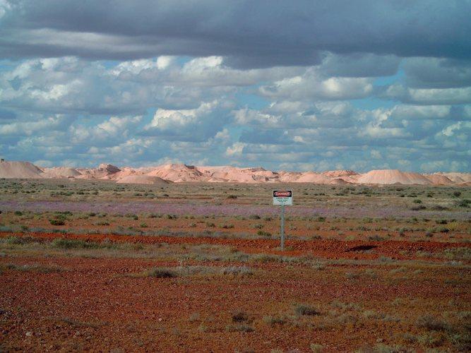 Opal Minen bei Coober Pedy