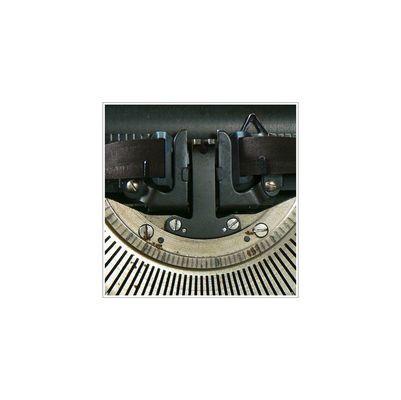 Opas alte Schreibmaschine