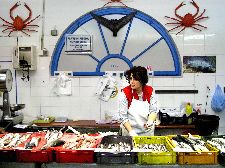 Opatija: Schöne Fischfrau