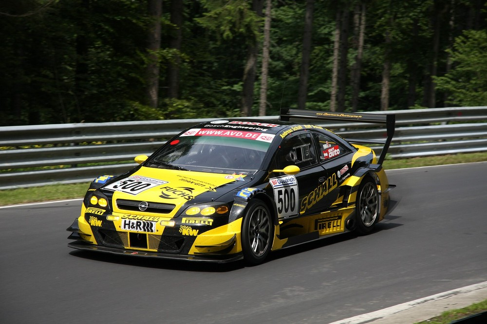Opel Astra Schall 6.Lauf VLN Nürburgring