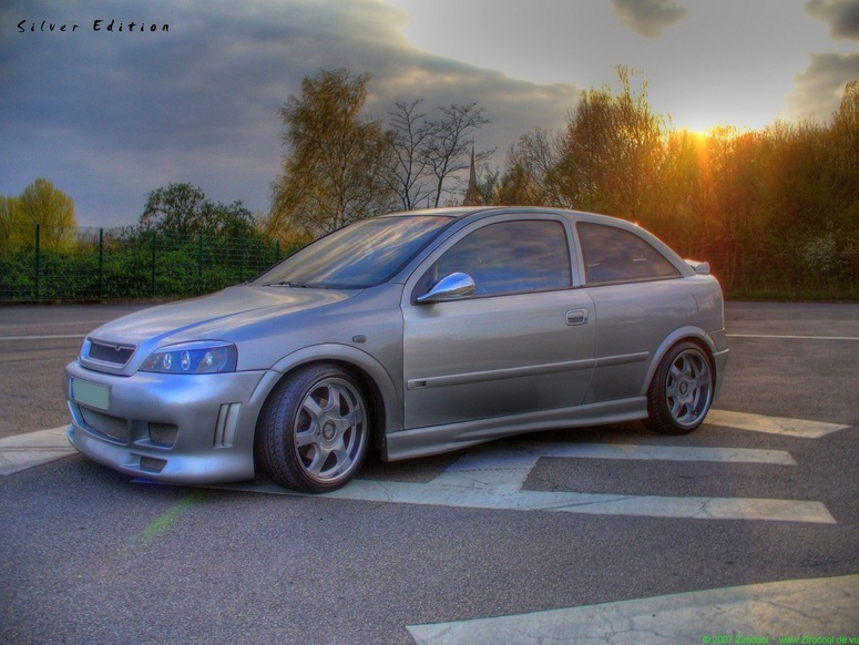 Opel Astra - Silver Edition