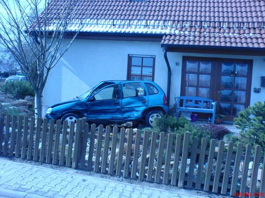 Opel Corsa auf Abwegen