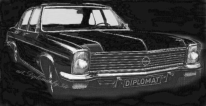 Opel Diplomat  ...Diplomat...