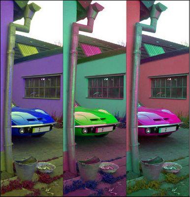 Opel GT Pop Art