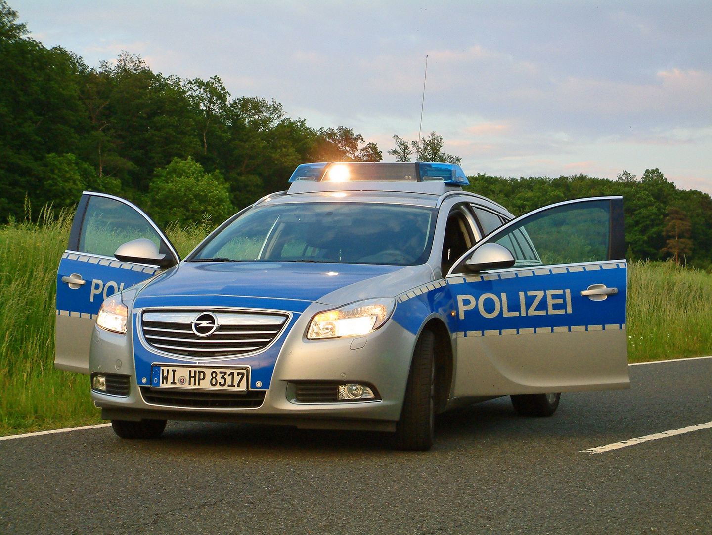 Opel Insignia Polizei