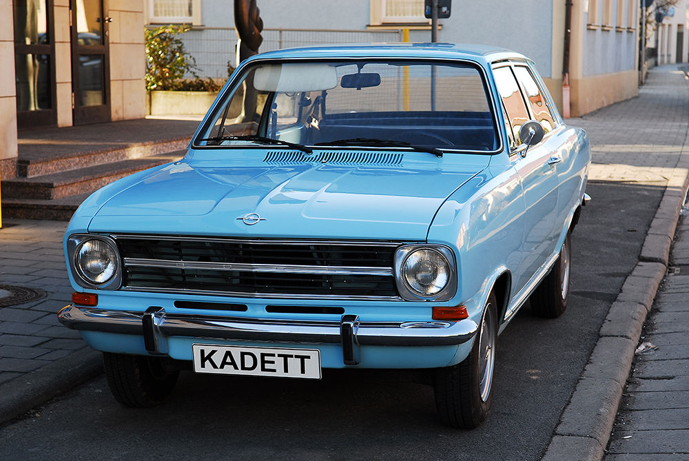 Opel Kadett Baujahr 1972 anno 2006
