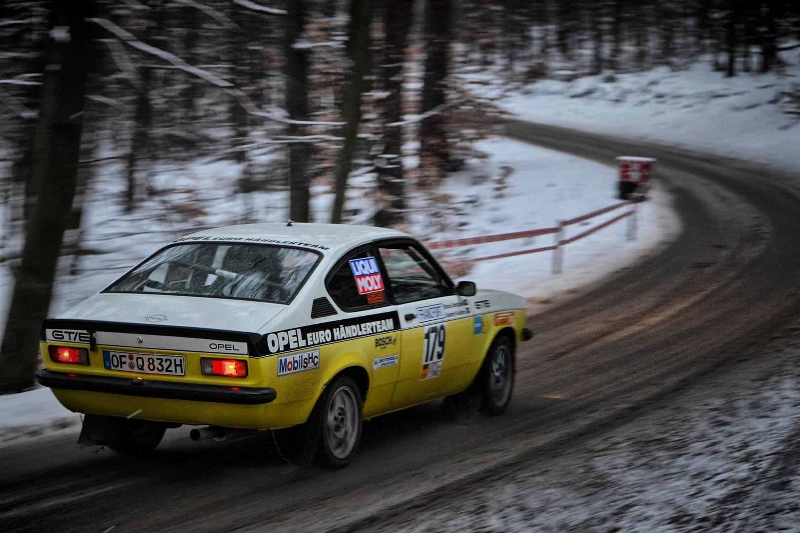 Opel Kadett GT/E bei Rallye SÜW 2013