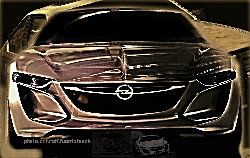 Opel Monza Concept. VS. Monza 5´er