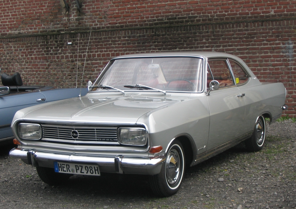 opel rekord b coup foto bild autos zweir der. Black Bedroom Furniture Sets. Home Design Ideas