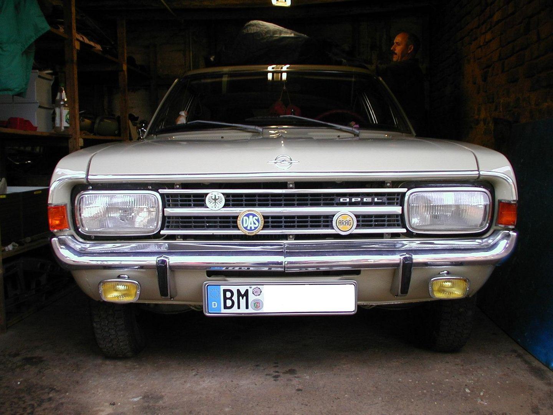 Opel Rekord C Caravan die erste