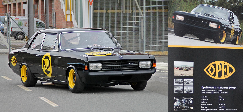 """Opel Rekord C """"Schwarze Witwe"""""""