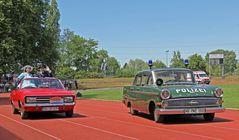 Opel Rekord + Kapitän -Oldtimer-