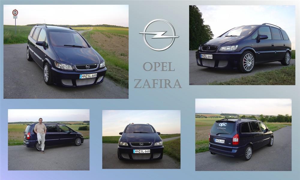 Opel Zafira A OPC Umbau