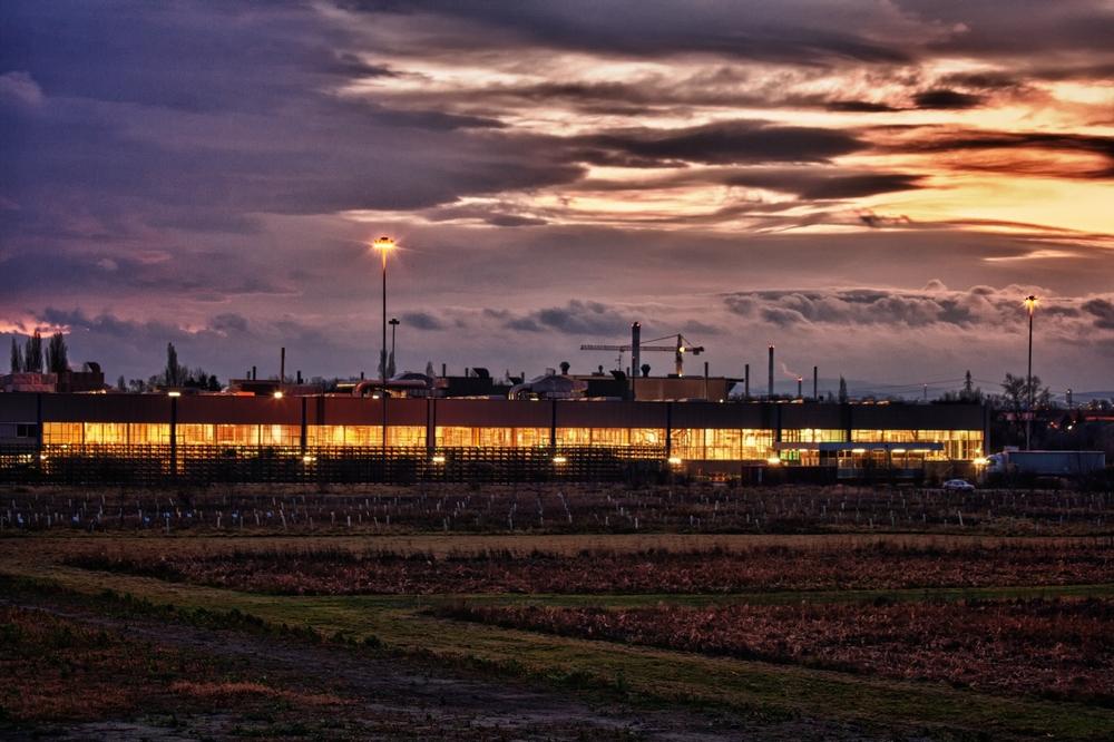 Opelwerk in Aspern