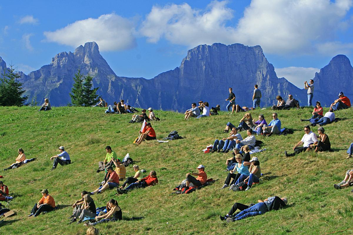Open Air mitten in den Bergen