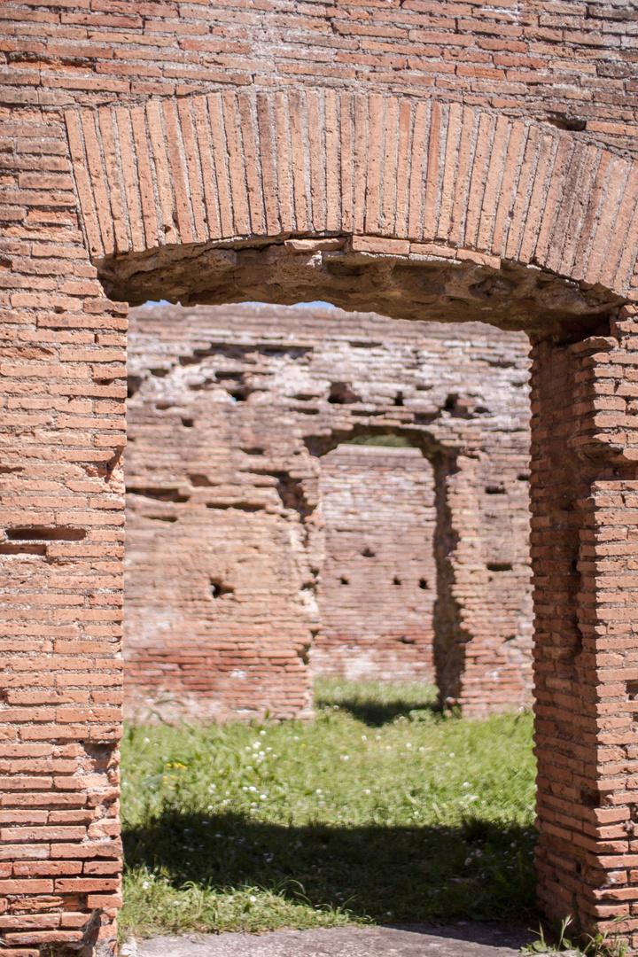 open doors to Ostia