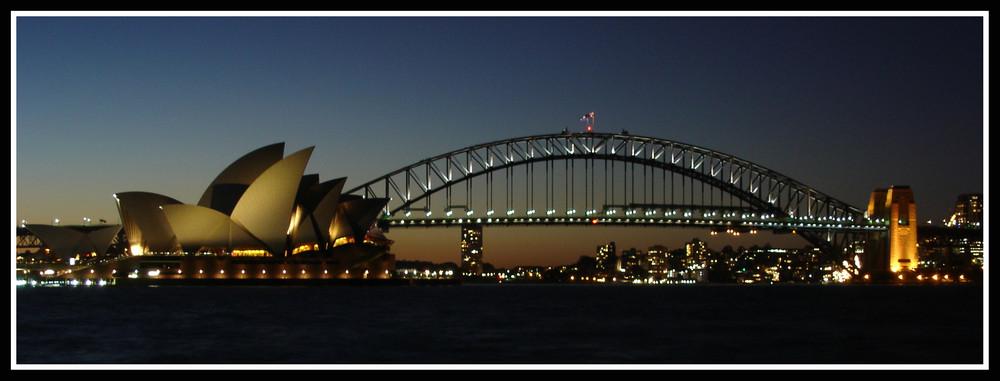 Opéra et Harbour Bridge