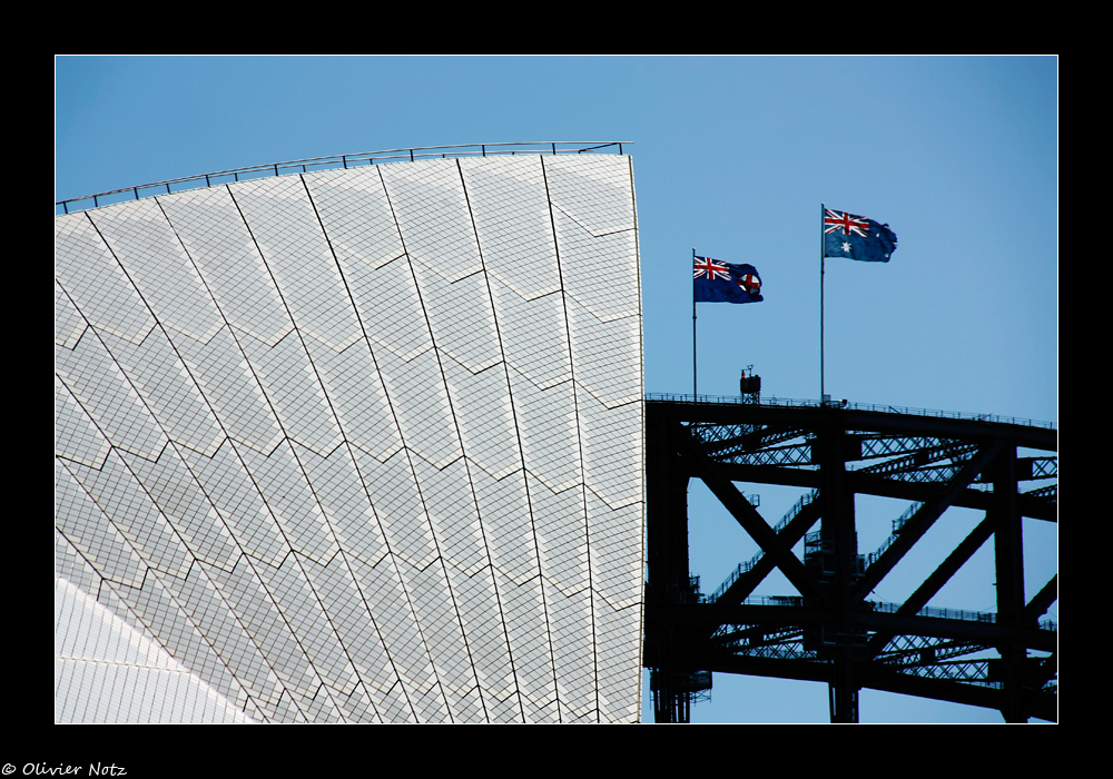 Opera House und Harbour Bridge