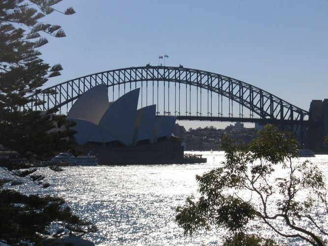 Opera House, View From The Botanic Gardens