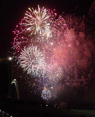 Operhaus Feuerwerk