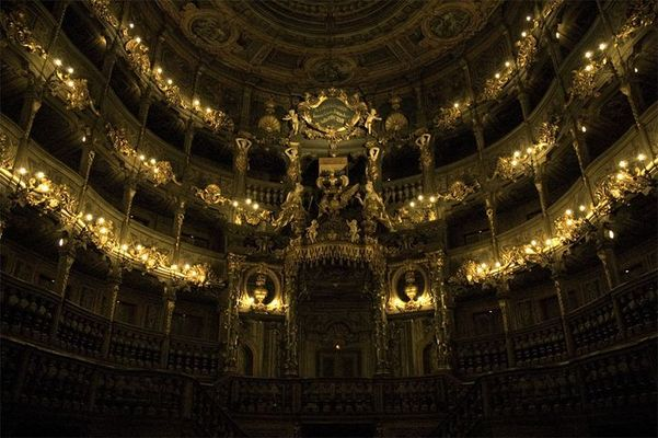Opernhaus Bayreuth Innenaufnahme