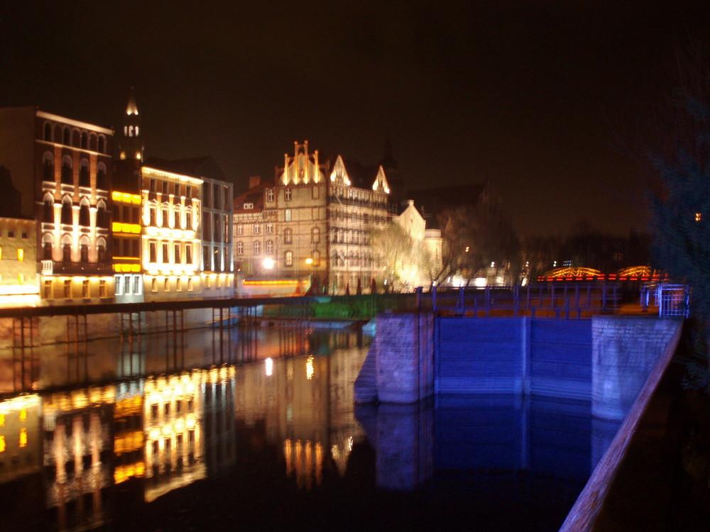 Opole bei Nacht 2