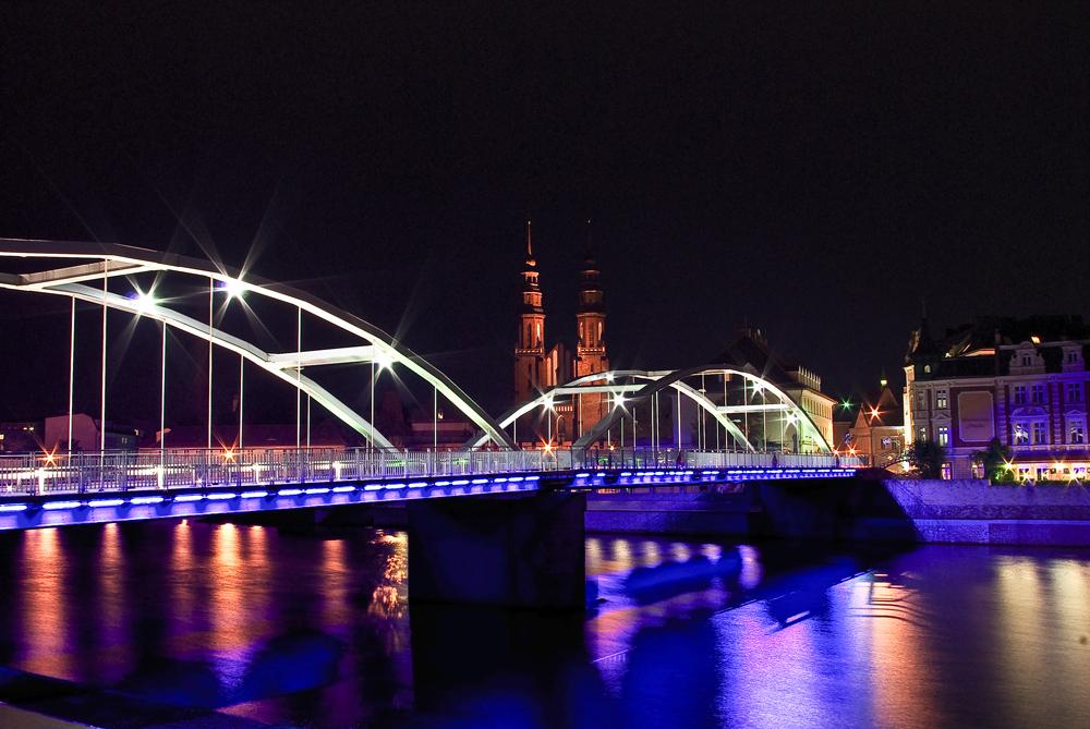 Opole_bridge@night