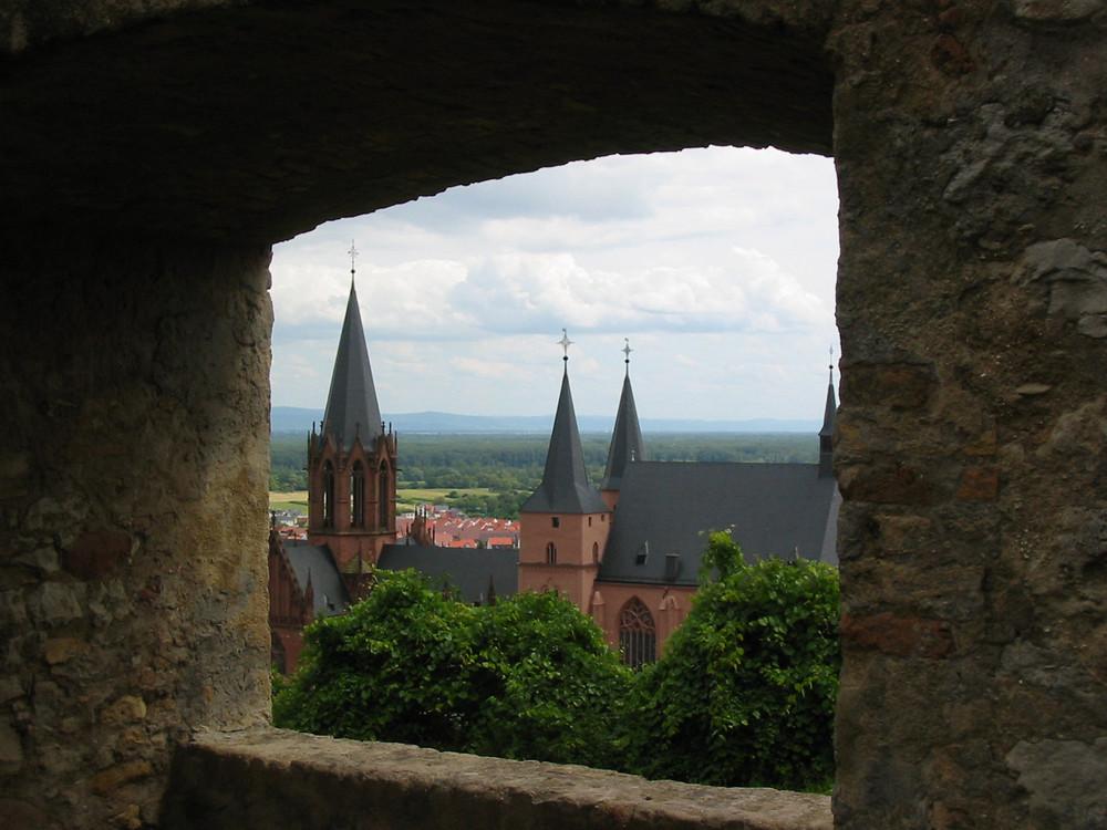 Oppenheim - Blick auf die Katharinenkirche