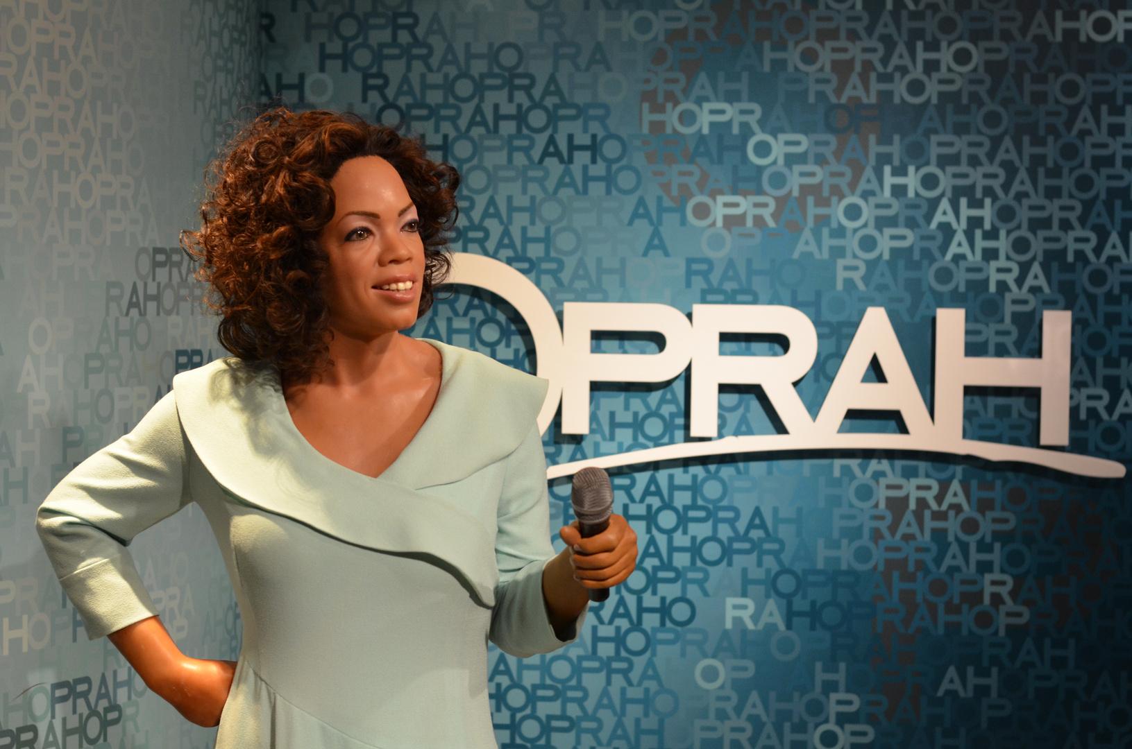 Oprah- Wachsfigur im Madam tussauds (Amsterdam)