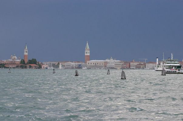 Orage à venir sur Venise