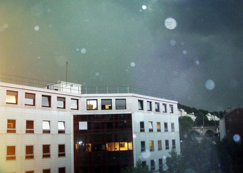 orage coloré