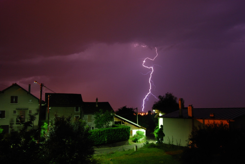 orage coup d 'eclair