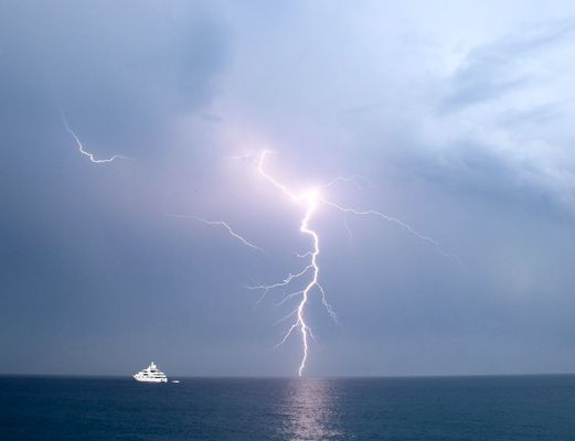 Orage en Méditerranée