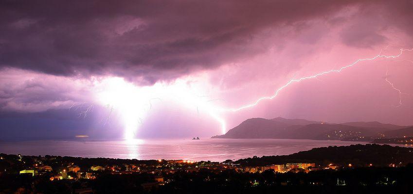 orage sur pin rolland