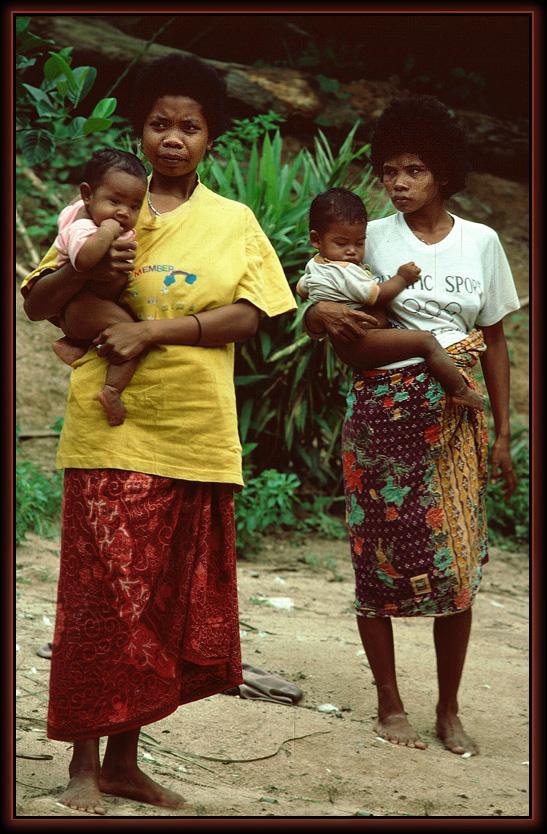 Orang Asli Frauen