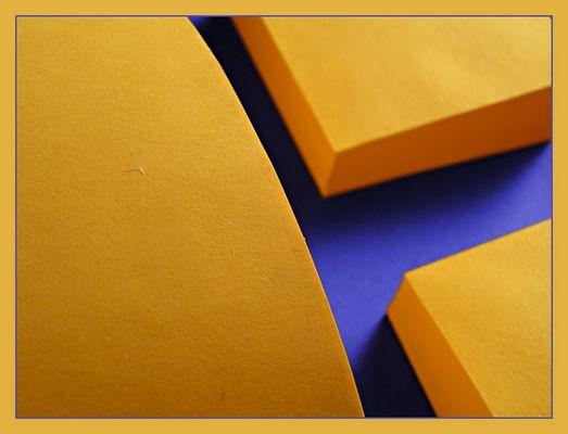 orange / blau (abstrakt)