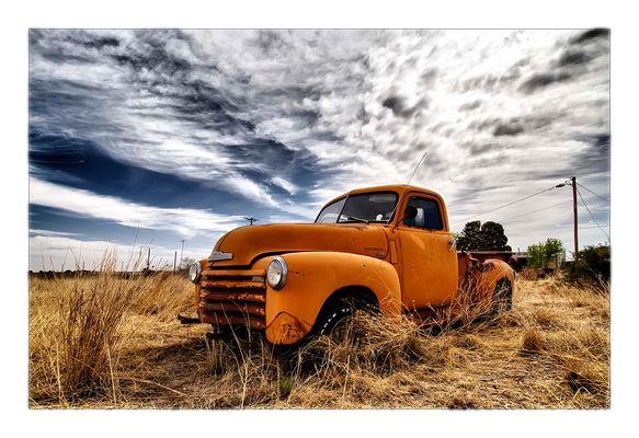 Orange Chevy