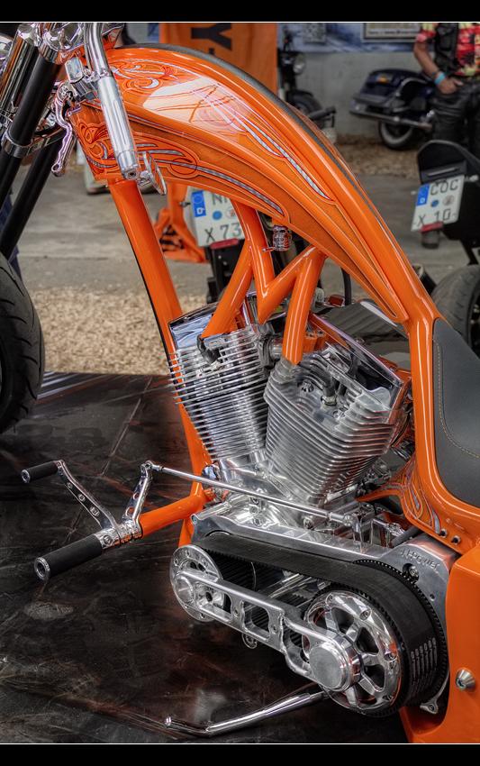Orange engine