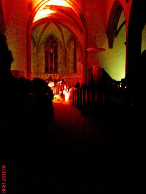 orange four in church 1