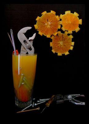 Orange mécanique.