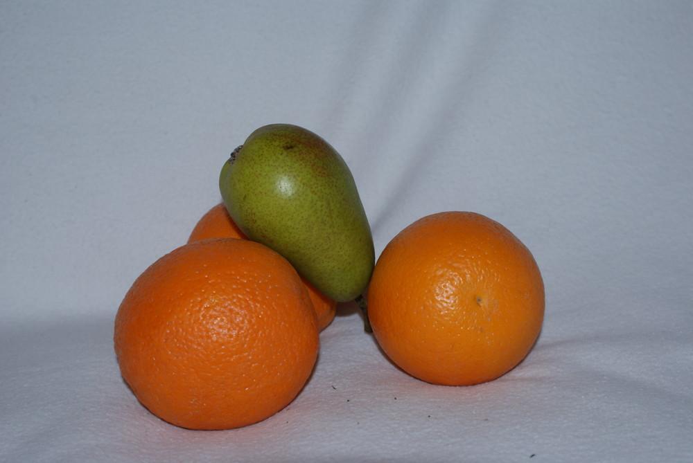 Orange mit Pears