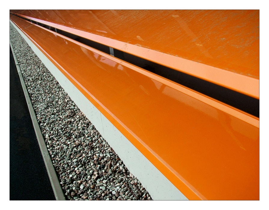 Orange Perspektive von Beatrix Morandell